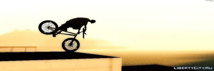 On Bike...8