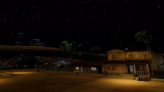 Grove Street in Night