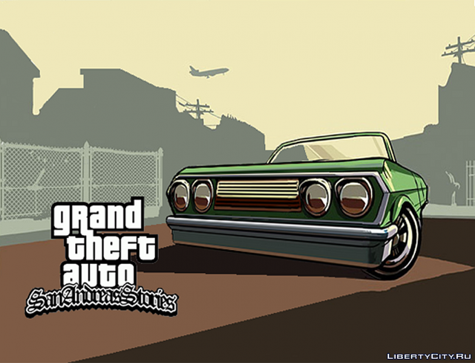 GTA San Andreas Stories loadscreen