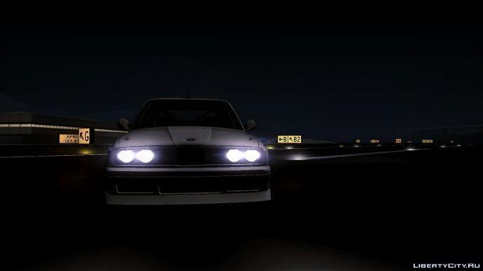 BMW Ночь