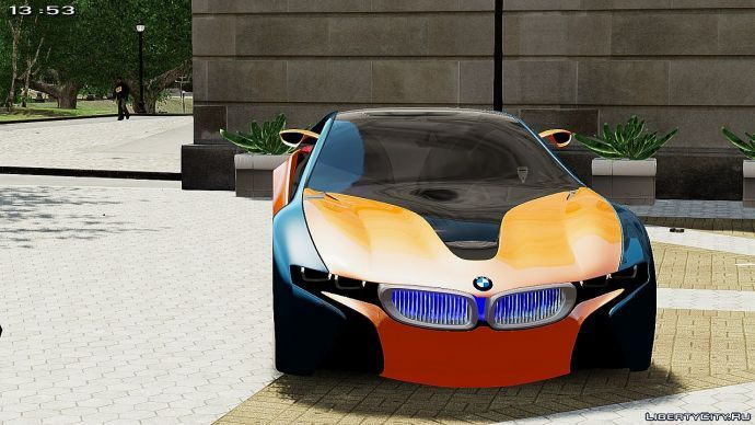 Bmw vision color