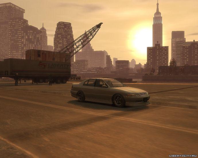 GTA Iv Sunset