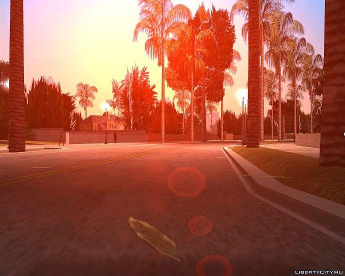 Vice City sunrise