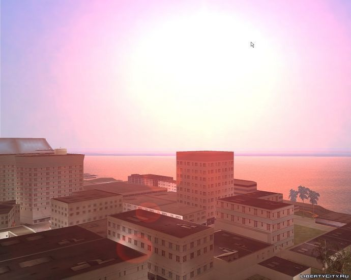 Vice City sunset #1