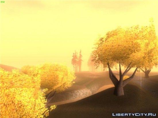 Осень в СА