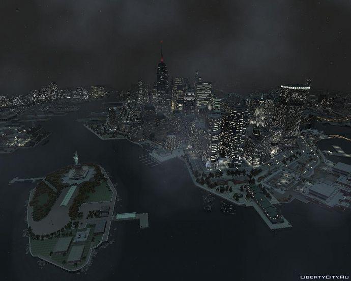 Ночной Liberty City