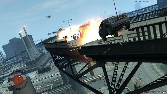 Взрыв на мосту
