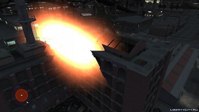 Взрыв на заводе.