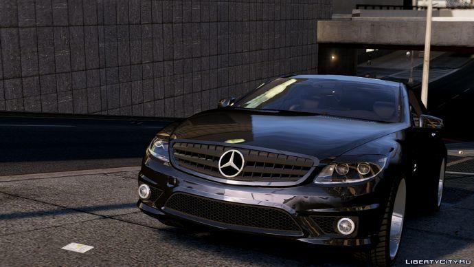 Mercedes CL65 Vip