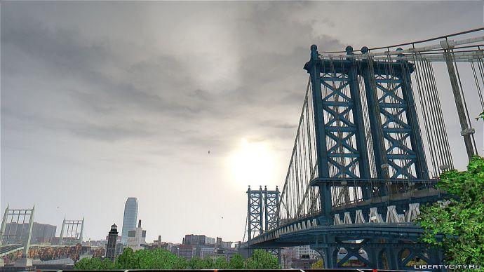 Просто красиво! Мост со стороны
