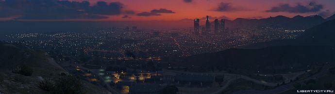 SNAPMATIX GTA 5. Панорама