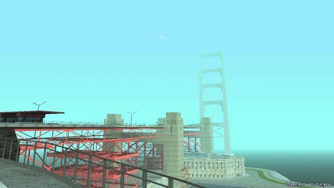 Красивый мост в Лос Сантос