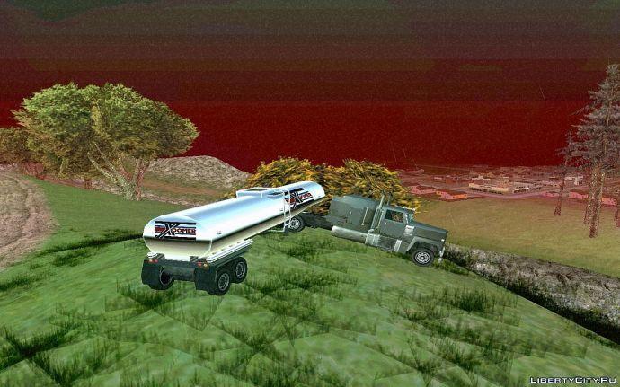Радиация в San Andreas