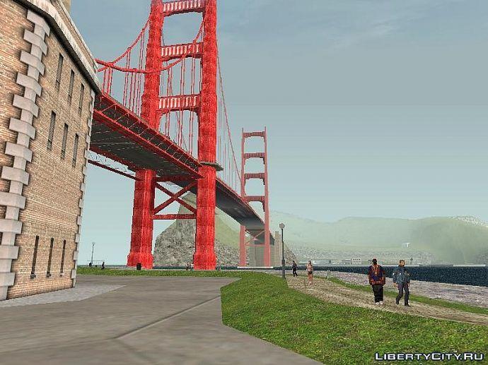 побережье и мост сан фиерро