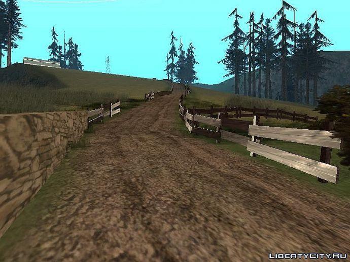 Дорога к ферме