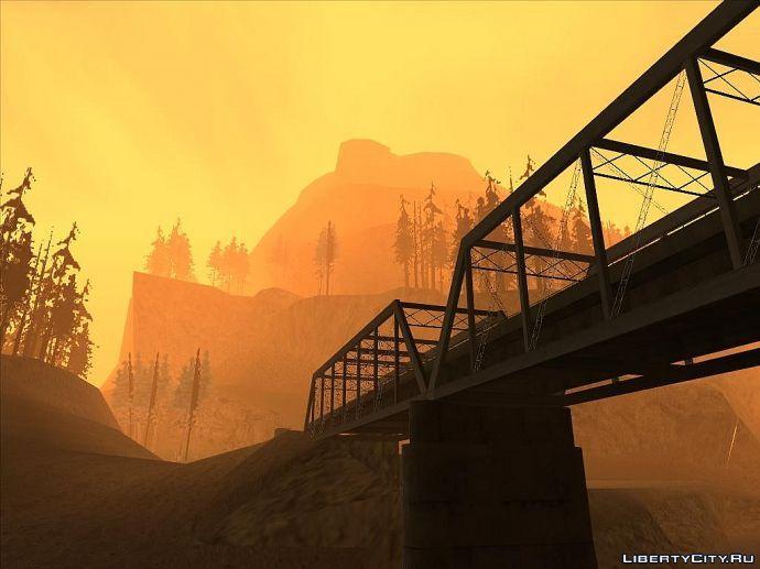 Мост в Angel Pine