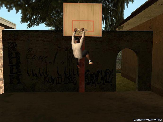 Cj играет в баскетбол