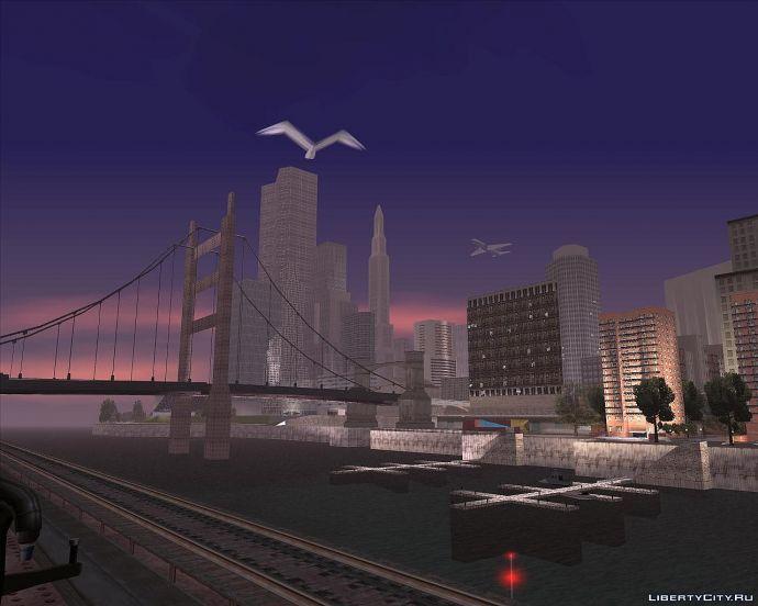 Закат в Liberty city