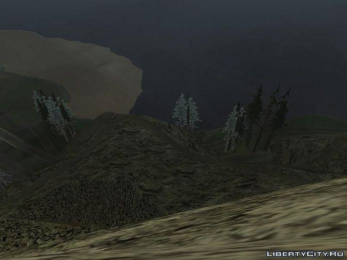 Вид с горы чилиад
