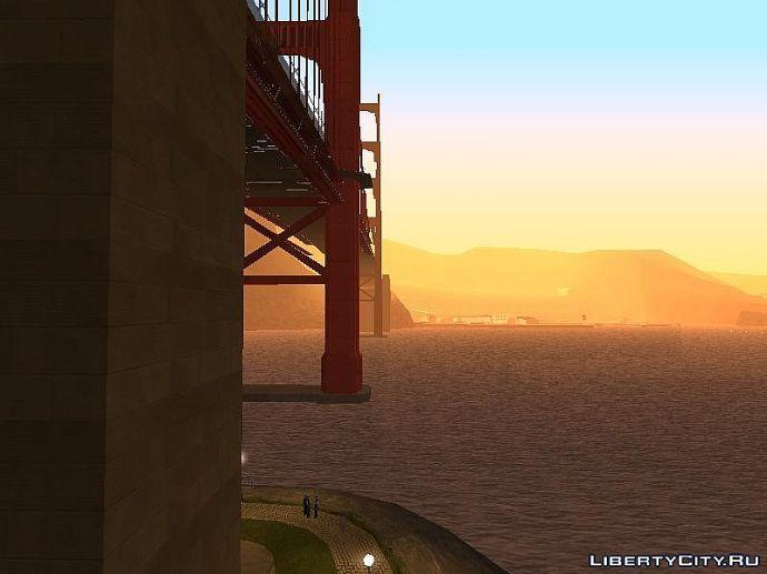 Панорама возле моста Сан Фиерро