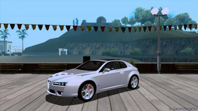 Alfa Romeo на мосту LS