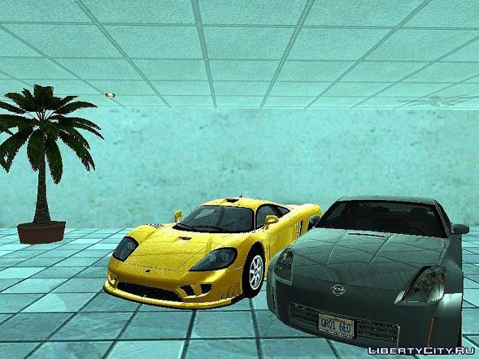 Два автомобиля.