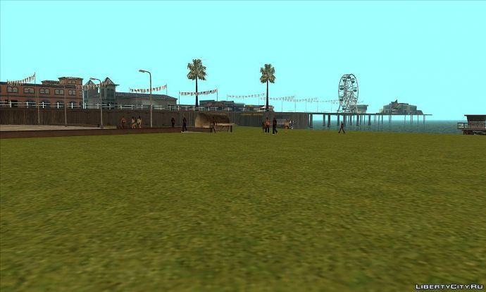 Зеленый пляж