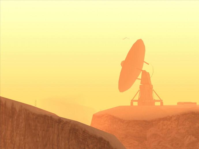 Янтарный радиотелескоп