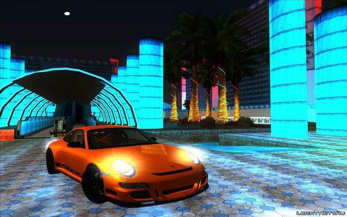 Porsche 911 GT3 RS возле казино