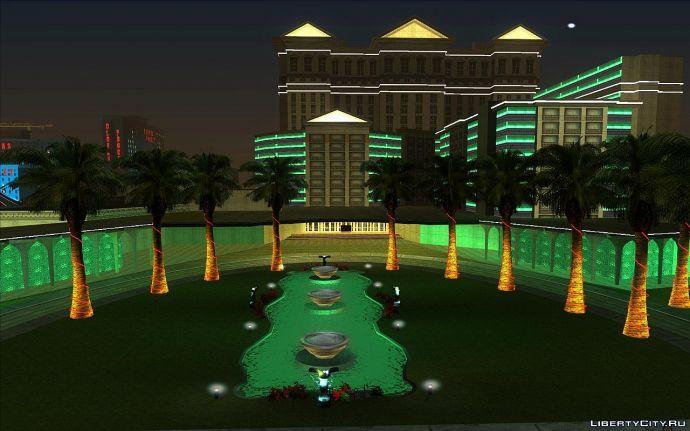Вид на казино