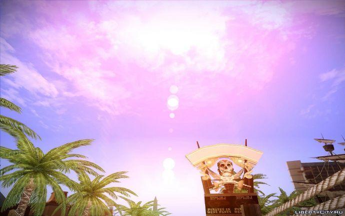 Вид на облака