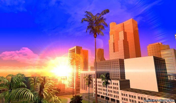 Закат в Лос-Сантосе