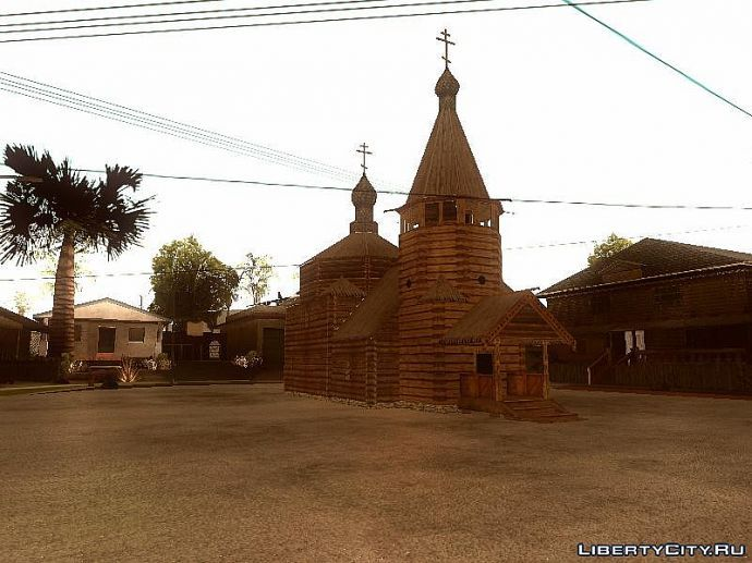 Церковь спереди