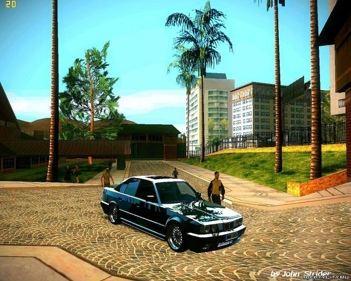 BMW 350i и мой ENB series
