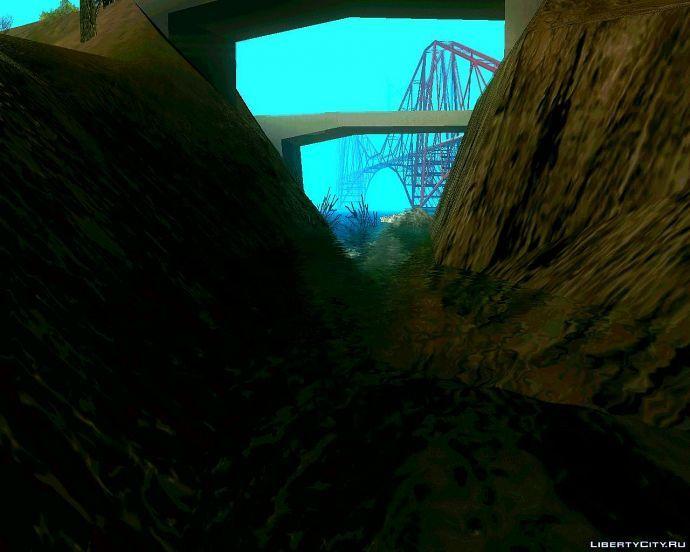 Из под моста