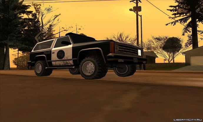 Cop's car