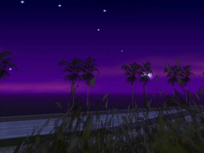 00:00 на пляже LS