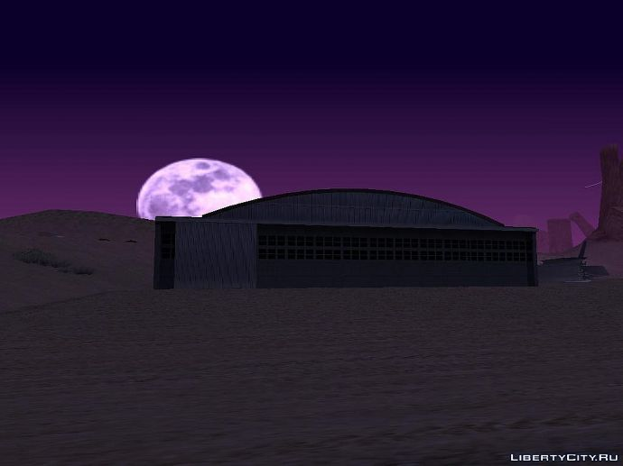 Луна в Песках