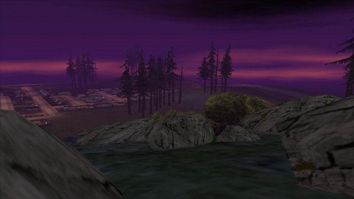 Пурпурное небо
