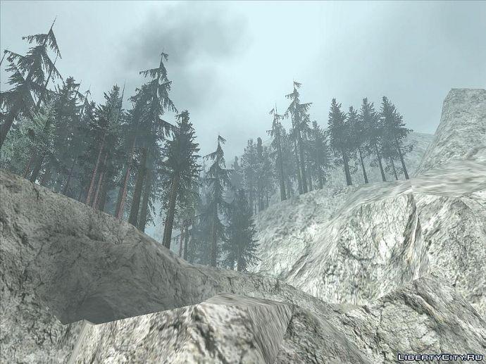 Тёмный и устрашающий лес
