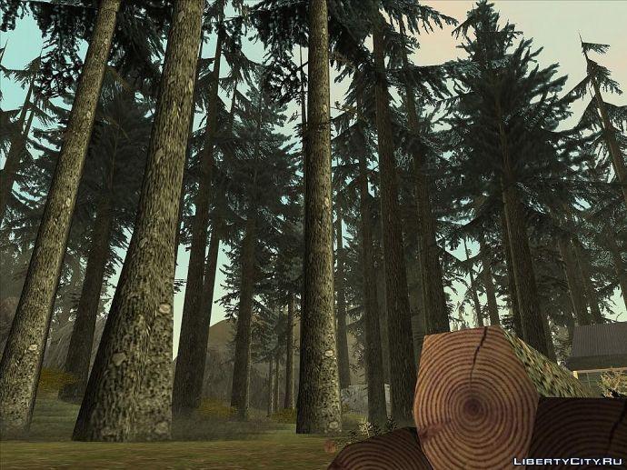Леса родные