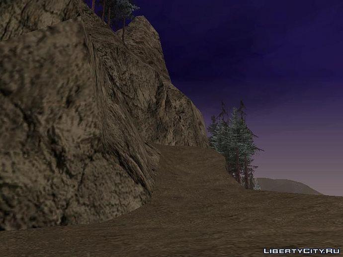 Гора Чиланд в GTA SA