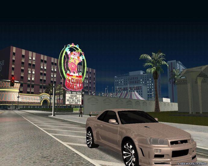 Nissan Skyline GTR Denus