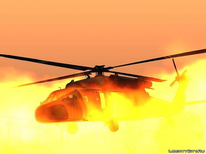 Красывый вертолёт
