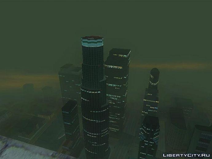 С небоскреба