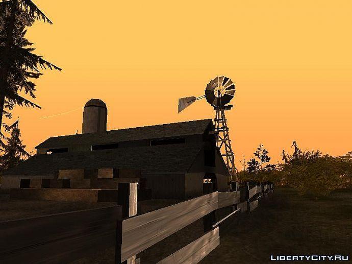 Ферма на холме