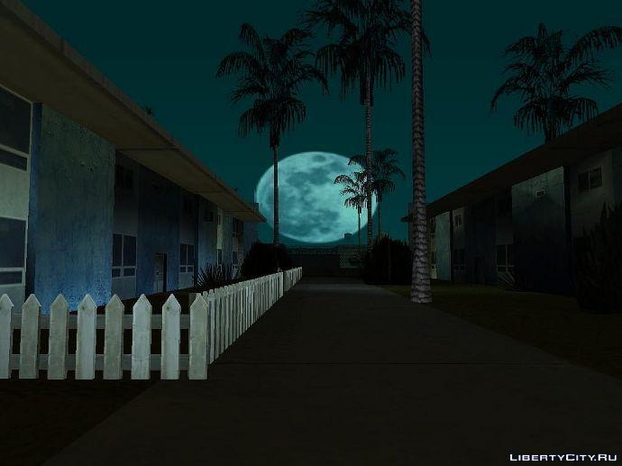 Луна в GTA SAN
