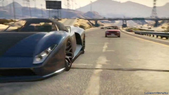 Grand Theft Auto V - знакомство с миром 10