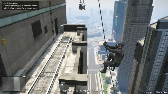 Grand Theft Auto V - знакомство с миром 16