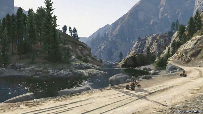Grand Theft Auto V - знакомство с миром 4
